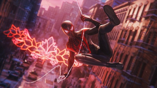 Spider Man Miles Morales PS5, PS4